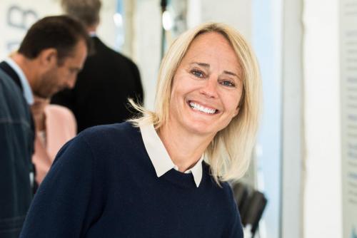 Konferensiär Karin Lepasoon, SSAB